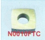 N0010FTC | Makino Power Feed Contact 9.3 X 9.3 X 3.2t A001