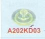 A202KD03 | Agie Water Nozzle 30 Ø X 16L X 3 Ø