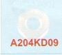 A204KDD9 | Agie Water Nozzle 22 Ø X 7t X 9 Ø