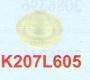 K207L605 | Sodick Water Nozzle (Extend Length) (Plastic) 6 Ø + 5mm