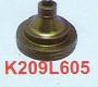 K209L605 | Sodick Water Nozzle (Black) (Extend Length) 6 Ø + 5mm